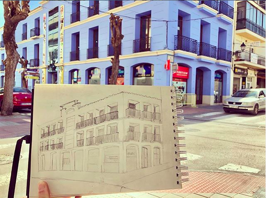 USKSpain Urban Sketchers Denia